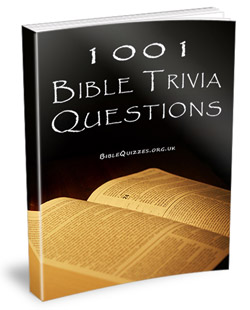 1001 Bible Trivia Questions Book