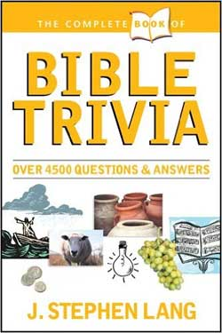 Play a Bible Quiz - 145 Bible Quizzes and 2,876 Questions!